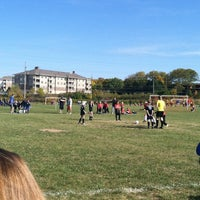 Photo taken at St. John's Soccer Playfield by Jackie A. on 9/29/2012