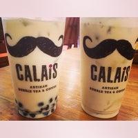 Photo taken at CALAIS Artisan Bubble Tea & Coffee by Ryan D. on 10/26/2013