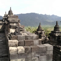 Photo taken at Borobudur Temple by Muhammad M. on 7/4/2013