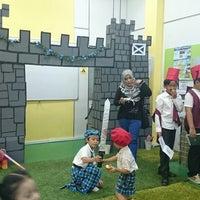 Photo taken at Greenview Islamic School Bukit Jelutong by Kheizlina D. on 3/1/2014
