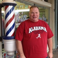 Photo taken at Northport Barber Shop by David S. on 5/10/2014