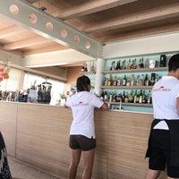 Photo taken at Gallanti Beach Pomposa by Morena M. on 8/6/2017