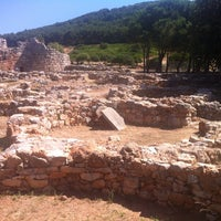Photo taken at Nuraghe Palmavera by Morena M. on 7/5/2013