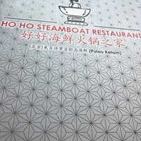 Photo taken at Restaurant Ho Ho Steamboat (好好海鲜火锅之家) by Kenny C. on 7/10/2017