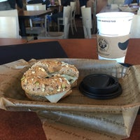 Photo taken at Einstein Bros Bagels by Max G. on 9/17/2015