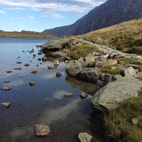 Photo taken at Llyn Idwal by mrs P. on 9/29/2013