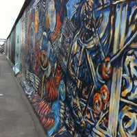 Photo taken at East Side Gallery by Anna N. on 6/30/2013