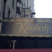 Photo taken at The Kimberly Hotel by Roni M. on 12/30/2012