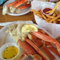 Photo taken at Crab Cracker by Jeffrey E. on 6/8/2014