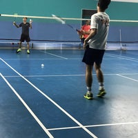 Photo taken at Pro One Badminton Centre by Amirul A. on 3/3/2017