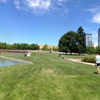 Photo taken at Bellevue Downtown Park by Ryan B. on 6/29/2013