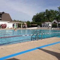 Photo taken at Northville Hills Pool by Blase C. on 5/26/2013