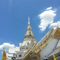Photo taken at Wat Sothon Wararam Worawihan by Akharaphol T. on 6/30/2013