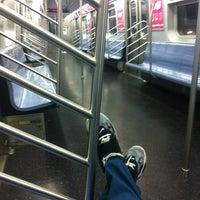 Photo taken at MTA Subway - Canarsie/Rockaway Pkwy (L) by Kae B. on 7/2/2013