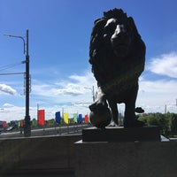 Photo taken at Днепровский мост by Evgenia O. on 7/1/2017
