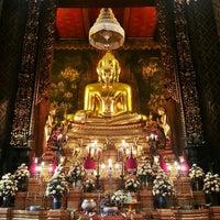 Photo taken at Wat Bowon Niwet by Amornluck K. on 2/17/2013