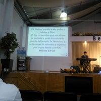 Photo taken at Comunidad Cristiana Betania by Mita C. on 8/24/2014
