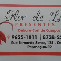 Photo taken at Flor de Liz by Jéssica M. on 8/8/2013