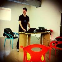 Photo taken at Impact Hub Roma by Mara M. on 10/24/2012