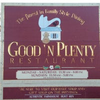 Photo taken at Good 'N Plenty Restaurant by Gary H. on 2/20/2016