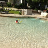 Photo taken at La Cantera Hill Country Resort Pool by Carolyn M. on 7/9/2013