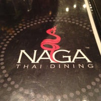Photo taken at Naga Thai Restaurant by Dave on 5/4/2013