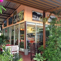 Photo taken at Coffee Pure @ สะพานข้ามแม่น้ำแคว by Lonelynoodao S. on 7/20/2013