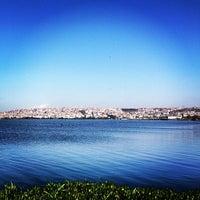 Photo taken at Küçükçekmece by s on 4/10/2013