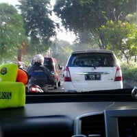 Photo taken at Jalan Jend. Ahmad Yani by Meydita S. on 5/7/2014