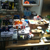 Photo taken at Lomography Gallery Store by H B. on 1/26/2013