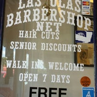 Photo taken at Las Olas Barber Shop by Spencer G. on 3/15/2014