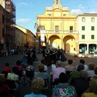 Photo taken at Piazza Guercino by Francesco B. on 9/22/2013