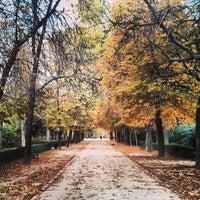 Foto tomada en Parque del Retiro por Alberto D. el 11/13/2013