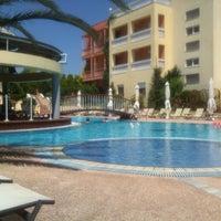 Photo taken at Ambassador Hotel Thessaloniki by Anne F. on 7/1/2013