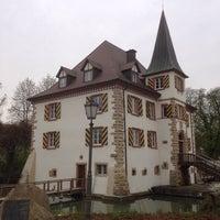 Photo taken at Wasserschloss Entenstein by David on 4/4/2014
