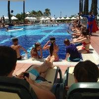 6/24/2013 tarihinde Hüseyin H.ziyaretçi tarafından Limak Atlantis De Luxe Hotel and Resort'de çekilen fotoğraf