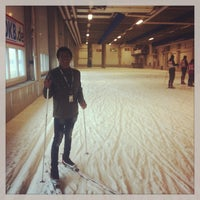 Photo taken at Skihalle Oberhof by Nam T. on 9/15/2013