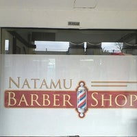 Photo taken at NATAMU BARBERSHOP by luqman h. on 2/25/2014