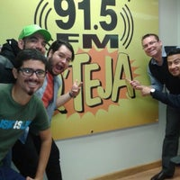 Photo taken at Q' Teja 91.5FM by Jorge C. on 7/31/2013