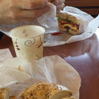 Photo taken at Bruegger's Bagels by Wulf W. on 9/5/2014