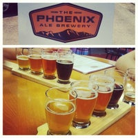 Photo taken at The Phoenix Ale Brewery by Omar Z. on 10/20/2012