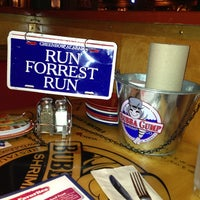 Photo taken at Bubba Gump Shrimp Co by Sarah R. on 7/29/2013