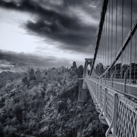 Photo taken at Clifton Suspension Bridge by Aaron R. on 1/7/2013