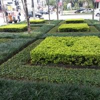 Photo taken at Praça do Pombo by Claudio R. on 1/9/2013