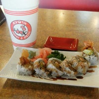 Photo taken at Kyoto Sushi and Grill by Camille S. on 2/11/2015