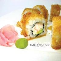 Photo taken at Sushi Lounge by Ximena R. on 6/16/2013