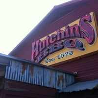 Photo taken at Hutchins BBQ & Grill by Joe J. on 3/16/2013