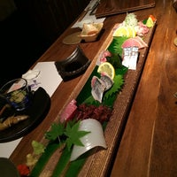 Photo taken at 旬鮨季酒 赤石 by Tetsuro T. on 6/23/2015