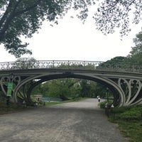 Photo taken at Central Park - Gothic Bridge by John Jay M. on 5/21/2016