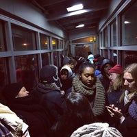 Photo taken at Track 3 - Metro North Port Chester by Xande M. on 12/15/2013